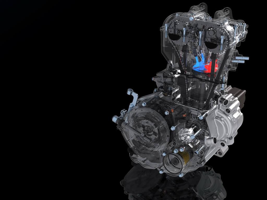 Hoge compressie motor