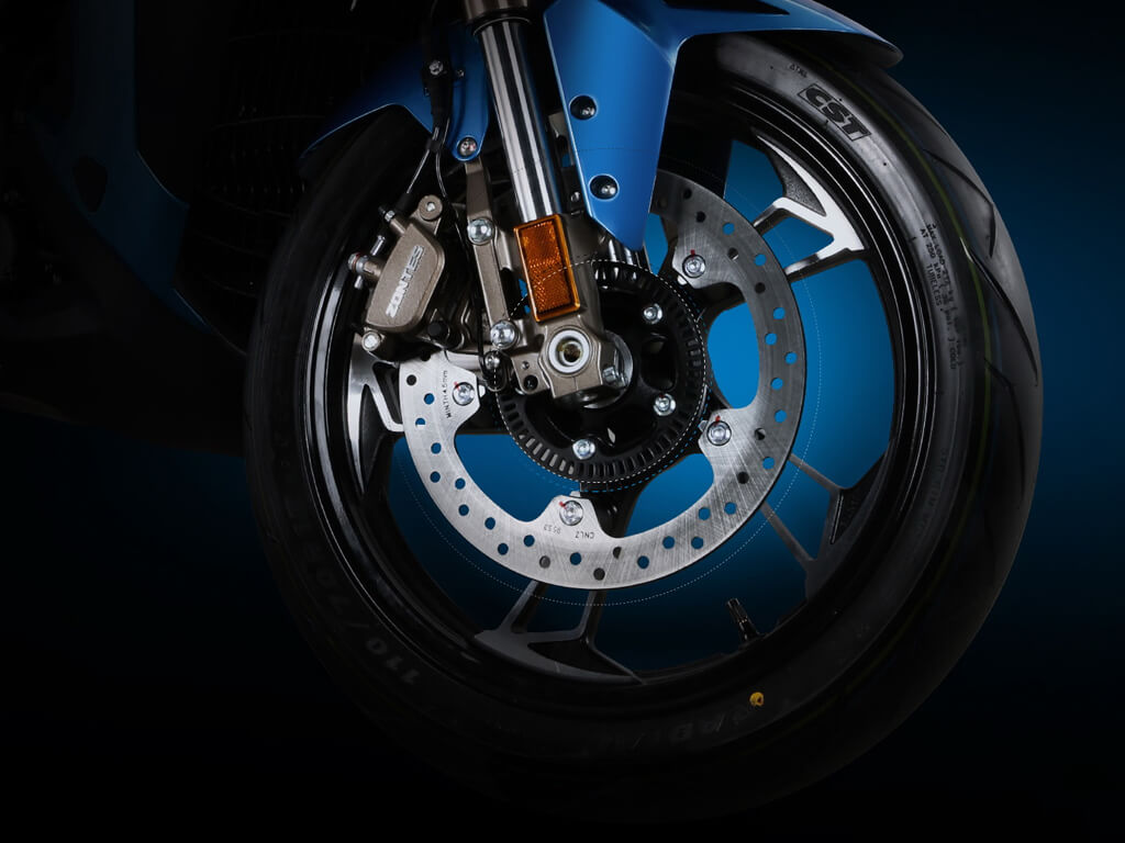 Bigger braking discs